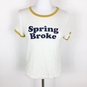 Forever 21 Graphic Tee Spring Broke sz. Medium